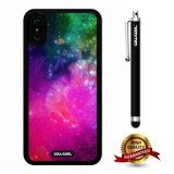 iPhone X Case, Starry Case, Cowcool Ultra Thin Soft Silicone Case for Apple iPhone 10 - Robot Rainbow Colorful Starry
