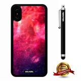 iPhone X Case, Starry Case, Cowcool Ultra Thin Soft Silicone Case for Apple iPhone 10 - Ufo Rainbow Colorful Starry