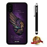 iPhone X Case, Wing Case, Cowcool Ultra Thin Soft Silicone Case for Apple iPhone 10 - Wings Love Wing You Are My Love