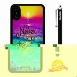 iPhone X Case, Maxim Case, Cowcool Ultra Thin Soft Silicone Case for Apple iPhone 10 - Rainbow Colorful Sea Never Stop Dreaming Love