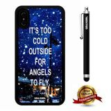 iPhone X Case, Maxim Case, Cowcool Ultra Thin Soft Silicone Case for Apple iPhone 10 - It Is Too Cold Outside Angels To Fly