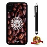 iPhone X Case, Maxim Case, Cowcool Ultra Thin Soft Silicone Case for Apple iPhone 10 - Ok But First Coffee Bean