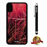 iPhone X Case, Branch Case, Cowcool Ultra Thin Soft Silicone Case for Apple iPhone 10 - In Love Grass Camo