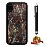 iPhone X Case, Branch Case, Cowcool Ultra Thin Soft Silicone Case for Apple iPhone 10 - Grass Camo Camo