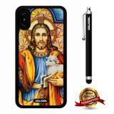 iPhone X Case, God Case, Cowcool Ultra Thin Soft Silicone Case for Apple iPhone 10 - God Jesu