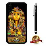 iPhone X Case, Pharaohs Case, Cowcool Ultra Thin Soft Silicone Case for Apple iPhone 10 - Egyptian Pharaohs Sphinx