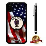 iPhone X Case, US Flag Case, Cowcool Ultra Thin Soft Silicone Case for Apple iPhone 10 - U.S.Seal Team One With American Fla