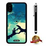 iPhone X Case, Love Case, Cowcool Ultra Thin Soft Silicone Case for Apple iPhone 10 - Hands In Sky Our'S Love