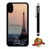 iPhone X Case, Eiffel Case, Cowcool Ultra Thin Soft Silicone Case for Apple iPhone 10 - Eiffel Paris Je T'Aime
